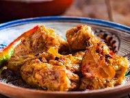 Рецепта Лесни сарми от листа кисело зеле с кайма, ориз и праз лук задушени в тенджера